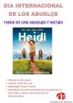Azuqueca organiza la proyección de Heidi para celebrar el Día Internacional de los Abuelos