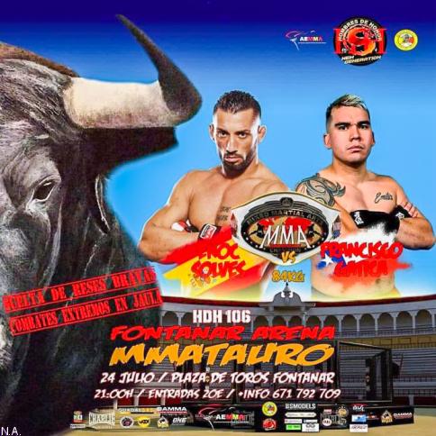 Mmatauro unirá en Fontanar  el mundo taurino y la MMA