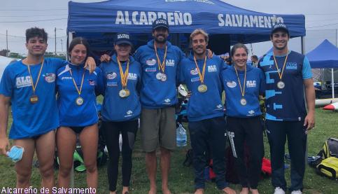 El Alcarreño de Salvamento, campeón de España absoluto