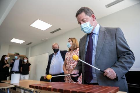 C-LM mantendrá toda la plantilla docente incorporada durante la crisis sanitaria el próximo curso