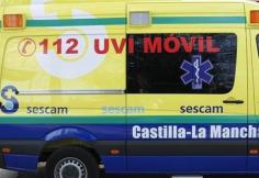 Tres personas heridas tras la colisión entre dos vehículos en Heras de Ayuso