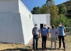 El Gobierno regional acomete trabajos de impermeabilización del depósito de agua potable de Pastrana