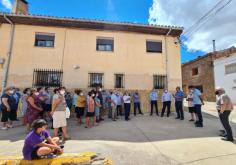 José Luis Vega comprueba en la Sierra Norte el efecto positivo de los nuevos planes de inversión de la Diputación