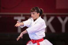 Sandra Sánchez, medalla de oro en karate y la undécima de España
