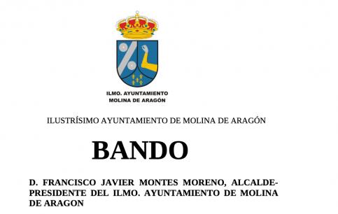 Restricciones y cortes en las vías de Molina de Aragón el próximo 17 de agosto