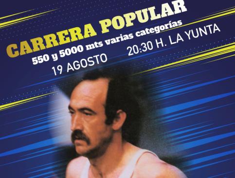 Carrera popular en La Yunta  en homenaje a Amado Hernández