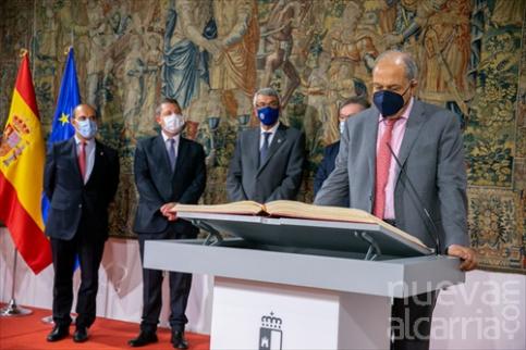Andújar y De Irízar toman posesión en Consejo Consultivo en último acto público de Sánchez Garrido como presidente