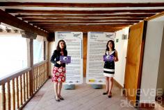 Las hermanas Lara, guionistas de la exposición del Ejército del Aire