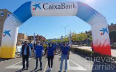 La salida desde la Avenida del Atance garantizó la seguridad sanitaria y el éxito del Día de la Bicicleta