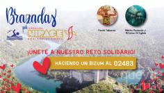 Brazadas por NIPACE: Alfonso Ortigado, Nacho Redondo y Paula Taberné asumen un nuevo reto solidario