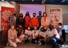 Cáritas y Fundación Orange inauguran en Guadalajara un aula para impulsar las competencias digitales de las mujeres