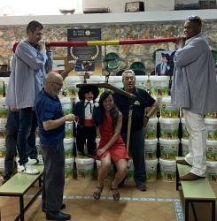 La ventrílocua y ganadora de 'God Talent 2021' Celia Muñoz recibe el premio Castillo de Peñalver