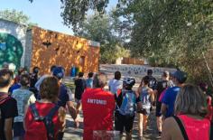 Medio centenar de personas participaron en la ruta a la Reserva de Azuqueca