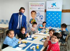 """Arranca en Guadalajara el programa de alimentación saludable impulsado por Cooperativas Agro-alimentarias, Fundación """"la Caixa"""" y CaixaBank."""