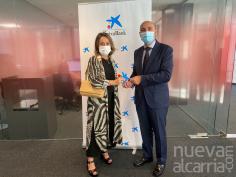 La alcarreña Ana Isabel Rebollo ganadora en la fase territorial de los Premios Mujer Empresaria CaixaBank 2021 en Castilla -La Mancha