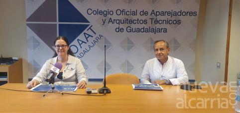 El futuro de Villaflores, el Alcázar y el casco, a debate de la mano del Colegio de Aparejadores