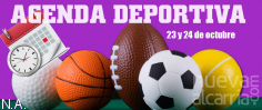 AGENDA DEPORTIVA   23 y 24 de octubre