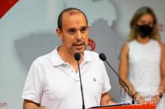Bellido presenta su precandidatura a la Secretaria General del PSOE en Guadalajara