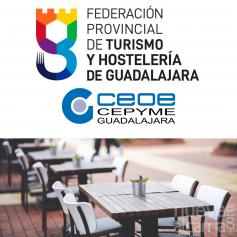 La Federación de Turismo y Hostelería agradece a Rojo la ampliación de la ocupación de las plazas de aparcamiento para las terrazas