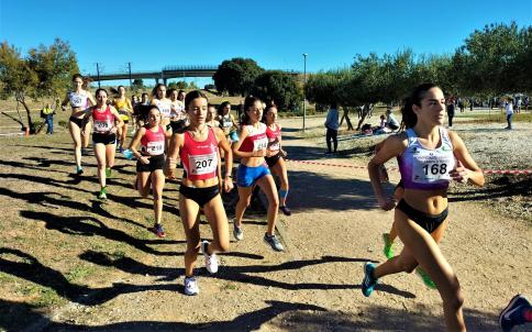 Cerca de 900 atletas convierten al V Cross Nacional Yebes-Valdeluz en una fiesta del campo a través