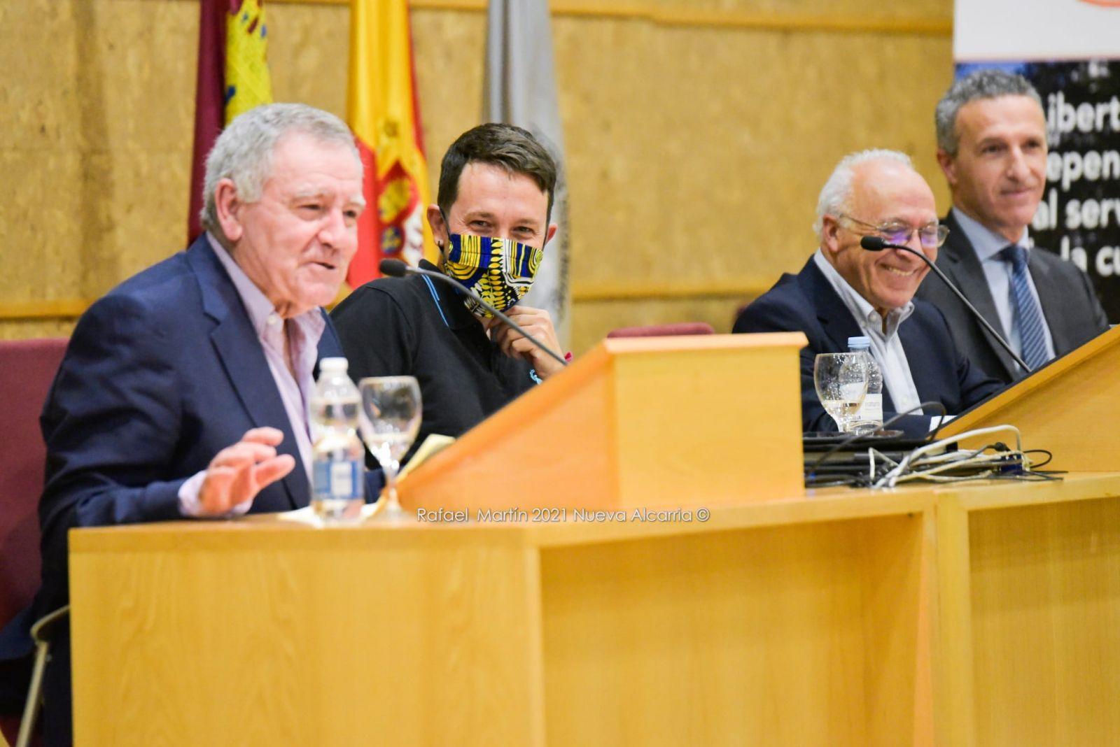 Pablo Iglesias, con Juanjo Tamayo